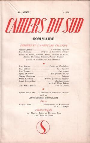 Cahiers du sud n° 370 / delphes: Collectif