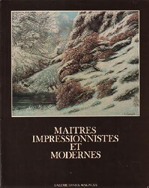 Maitres impressionnistes et modernes: Malinge Danièle