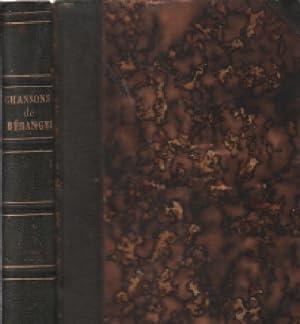 Dernieres chansons de P.J. Beranger de 1834: Béranger