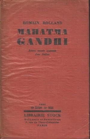Mahatma gandhi: Rolland Romain