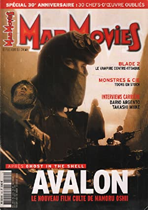 Mad movies n° 140 / avalon , blade 2 , monstres & cie