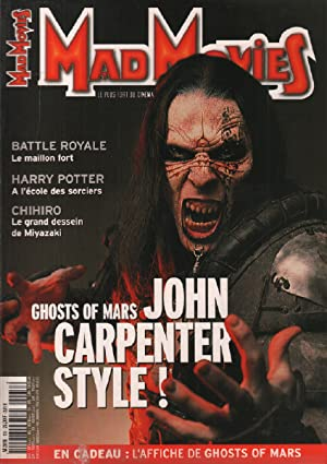 Mad movies n° 136 / ghost of mars , john carpenter, battle royale harry potter