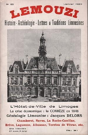 Lemouzi n° 85 / l'hotel de ville: Collectif