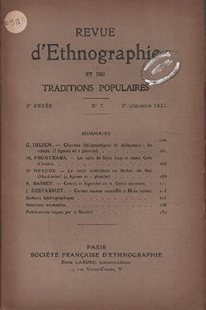 Revue D'ethnographie Et Des Traditions Populaires N°: Collectif