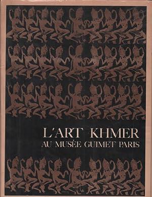 L'art khmer au musée guimet paris