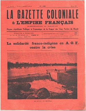 La gazette coloniale & l'empire français/ la: Collectif