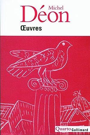 Oeuvres: Déon Michel Delessert