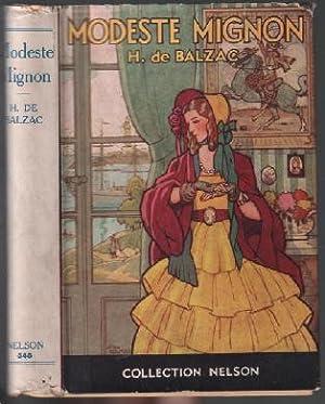 Modeste mignon: De Balzac Honoré