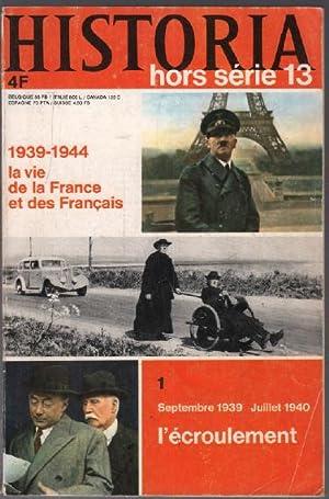 Septembre 1939 juillet 1940 : l'écroulement /: Collectif