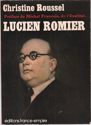 Lucien romier: Roussel Christine