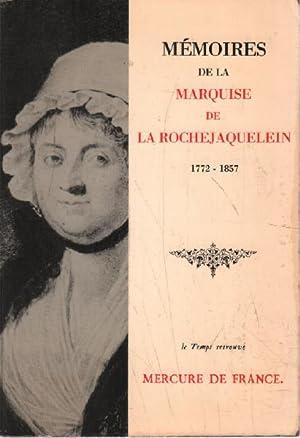 Memoires de la marquise de la rochejaquelein: Marquise De La