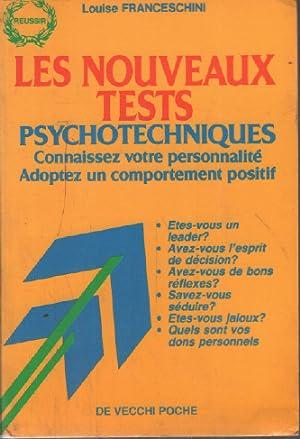 Les nouveaux tests psychotechniques: Louise Franceschini Rampazzo