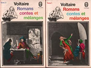 Romans contes et mélanges / 2 tomes: Voltaire