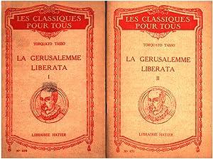La gerusalemme liberata : 2 tomes: Tasso Torquato
