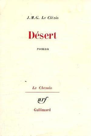 Désert: Clézio Jean-Marie-Gustave Le