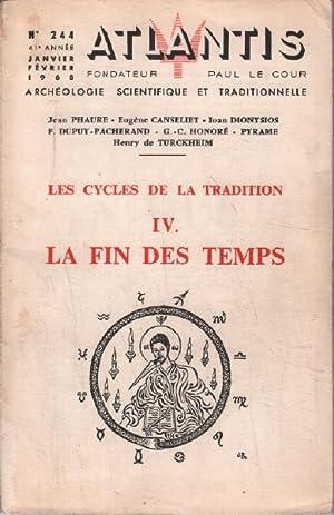 Les cycles de la tradition iV /: Phaure Jean /