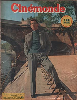 Cinémonde n° 1003 / couverture : yves montand
