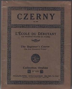 L'école du débutant opus 599 ( le: Czerny