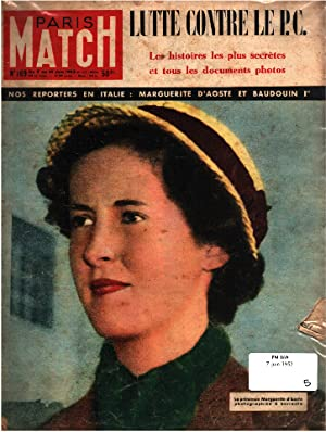 Paris match n° 169 / 7 juin 1952