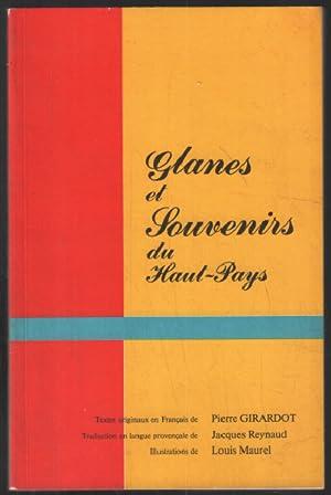 Glanes et souvenirs du haut pays: Girardot, Reynaud