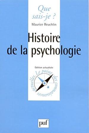 Histoire de la psychologie: Maurice Reuchlin
