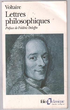 Lettres philosophiques: Voltaire, Frédéric Deloffre