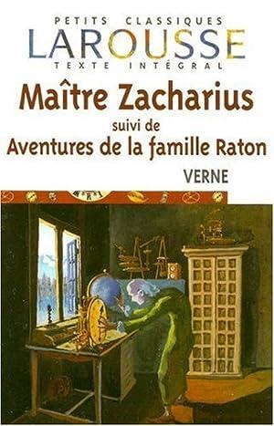 Maitre Zacharius / Suivi De Aventures De: Jules Verne, Thanh-Van
