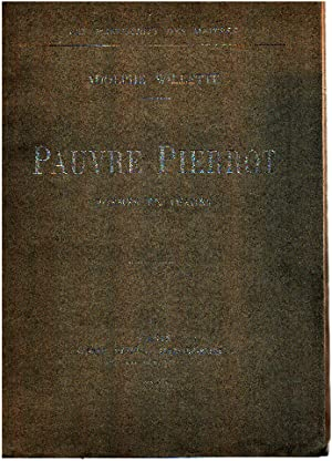Pauvre pierrot poemes en images: Willette Adolphe