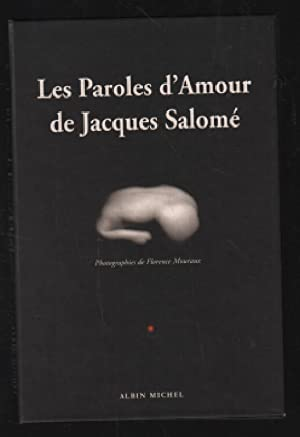 Les paroles d'amour de jacques salomé