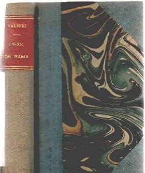 L'exil de rama: Valmiki