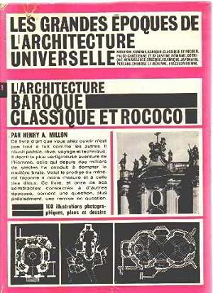 Baroque et rococo abebooks for Architecture classique
