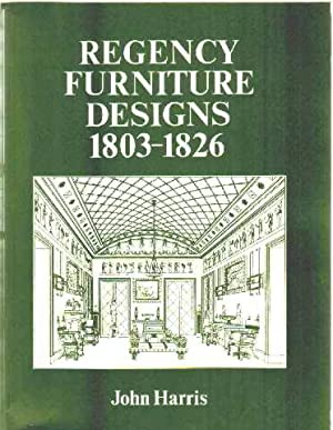 Regency furniture designs from contemporary source books: Harris John