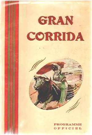 Grande corrida de toros novillos / programme: Pouly Pierre