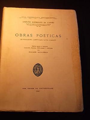 Obras Poéticas em Português Castelhano Latim Italiano: Castro (Estevão Rodrigues
