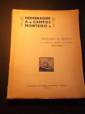 Organizada por Homenagem a Campos Monteiro 1876: Passos (Carlos dos)
