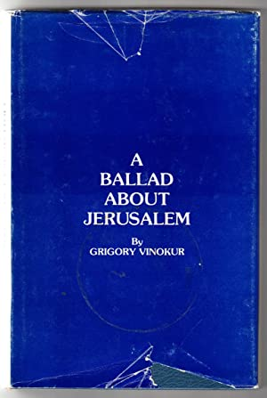 A Ballad Abount Jerusalem, The Crown of: Vinokur, Grigory (aka