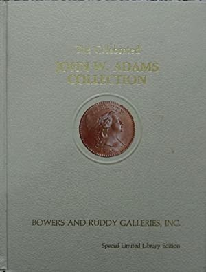 The Celebrated John W. Adams Collection of United States Large Cents of the Year 1794