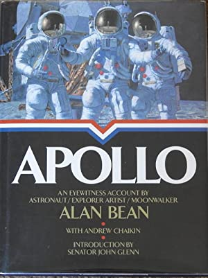 Apollo : An Eyewitness Account By Astronaut/Explorer Artist/Moonwalker [ with Apollo 17 Patch ]