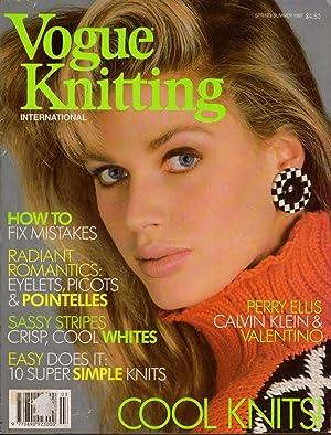 Vogue Knitting International Magazine Spring/Summer 1987