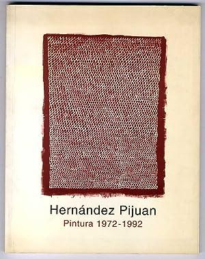 Hernández Pijuan. Pintura 1972-1992. Centre Cultural Tecla: HERNANDEZ PIJUAN] VV.AA.