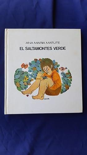 El Saltamontes verde: Ana Maria Matute