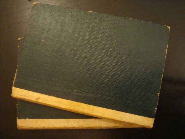 Lecciones de carreteras, caminos de hierro y navegación interior y exterior (2 tomos) Cayetano González de la Vega Very Good Hardcover