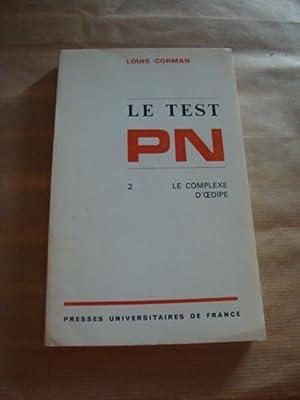 Le test PN 2. Le complexe d'oedipe: Louis Corman
