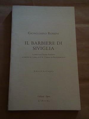 Il barbiere di Siviglia: Gioacchino Rossini