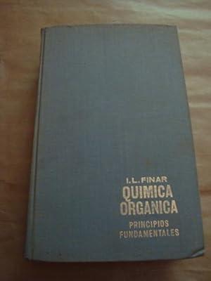 Química orgánica. I: Principios fundamentales: I.L. Finar
