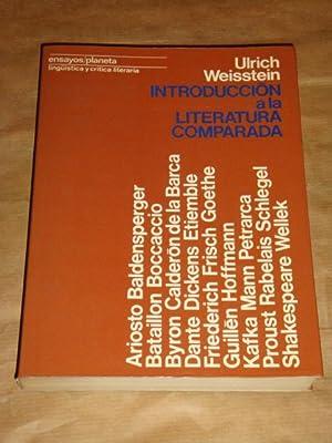 Introducción a la literatura comparada: Ulrich Weisstein