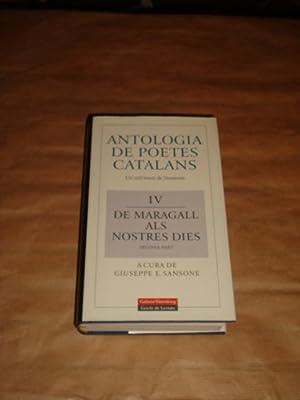 Antologia de poetes catalans. Un mil·leni de