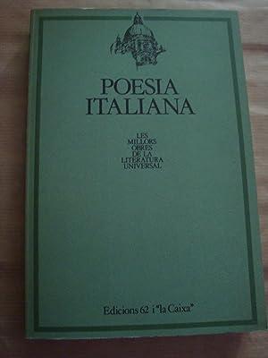Poesia italiana: dd.aa
