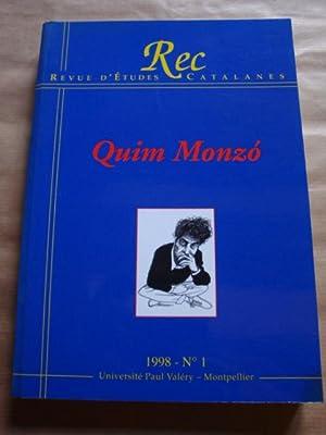 Revue d'Études Catalanes (n. 1, 1998). Quim