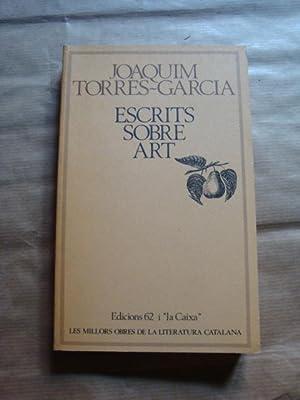 Escrits sobre art: Joaquim Torres-Garcia